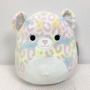 "Squishmallows Michaela Multicolor Cheetah 8"" New"